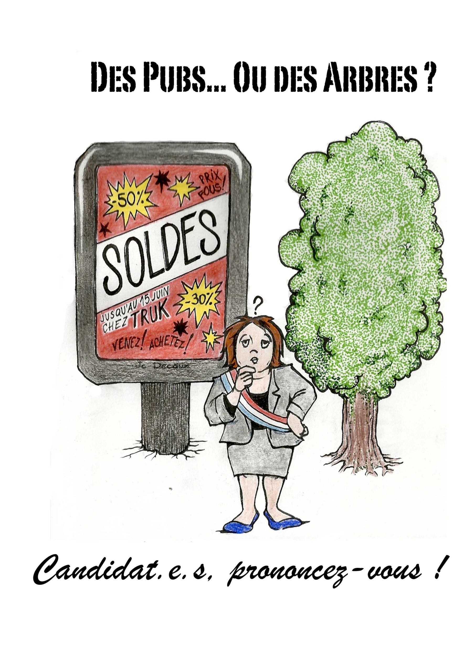 Quelle place pour la publicité dans la ville ? Questionnaire aux candidat·e·s #municipales2020