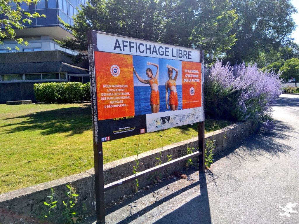 Le Slip colle illégalement dans les rues de Nantes