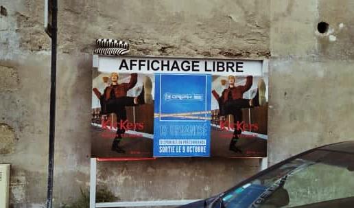 « Tout le monde le fait, pourquoi pas nous » l'affichage sauvage à Nantes